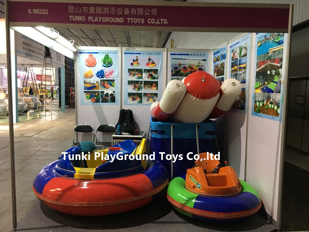 Big Sale Game Rides Kids Theme Park Playground Inflatable Bumper Cars