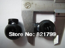 factory price Garment stopper for apparel black stopper whosale button