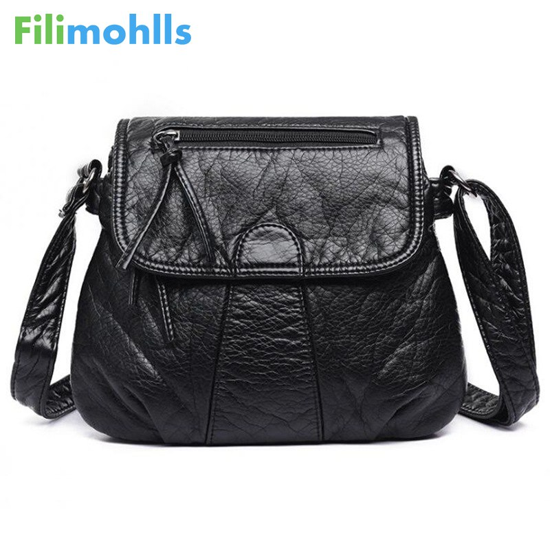 Brand Designer Women Messenger Bags Crossbody Soft PU Leather Shoulder Bag High Quality Fashion Women Bags Handbags S1129 tcttt luxury handbags women bags designer fashion women s leather shoulder bag high quality rivet brand crossbody messenger bag