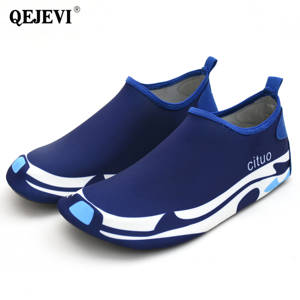 NEW Breathable Water Shoes Men Women Beach Shoes Quick Dry Black Aqua Shoes Upstream Swimming Seaside Sneaker пляжные тапочки