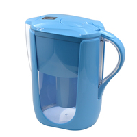 Household Straight Drink Filtered Tap Water Kettle Filter 1 Pitcher for Water Filters Carbon for Brita Water Filter Blue