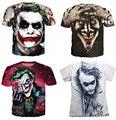 The Joker DC Comics Superhero 3D Print T-Shirt Women Men Summer Style t shirt Harley Quinn Carnage joker tee tops plus size