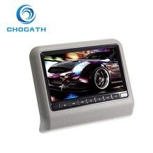 ChoGath (TM) 9 «Цифровой ЖК-Экран Автомобилей Подушки Монитора в Подголовнике Сиденья DVD/USB/SD Игрока ИК/FM,