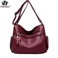 Luxury Designer Leather Shoulder Handbag Double Zipper Casual Messenger Bags Large Crossbody Bags for Women Sac A Main Clutch double clutch a brenna blixen novel