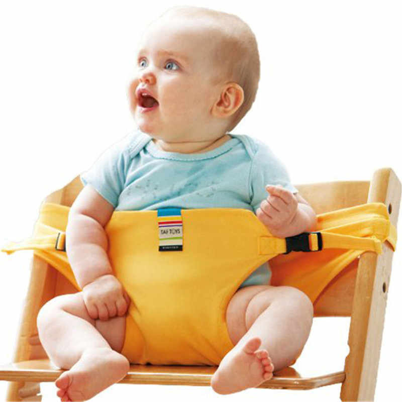 Baby Feeding Chair Portable Infant Baby Booster Seats Toddlers Children Safety Belt Feeding High Chair Harness Dining Seat Belt