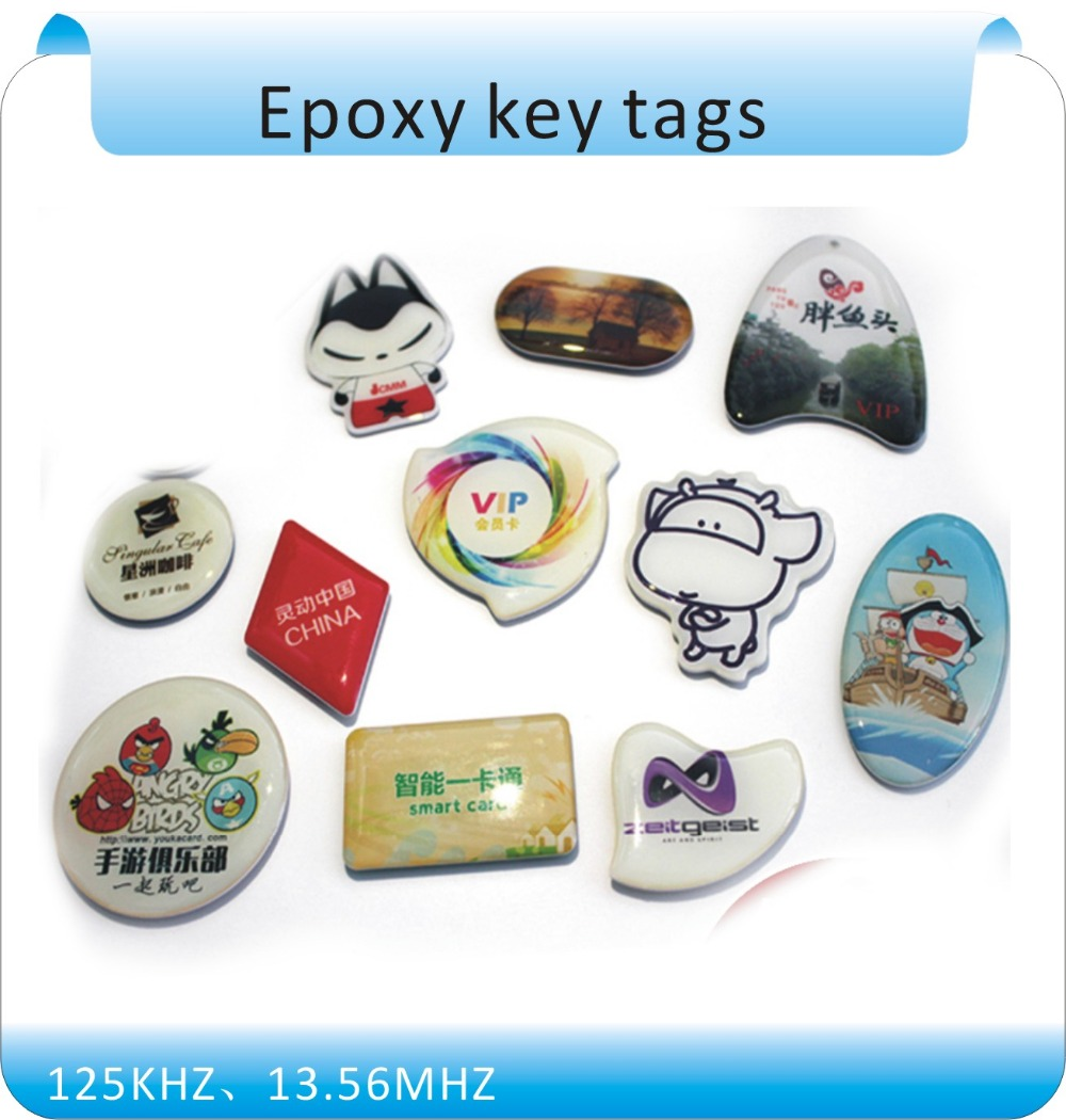 F Ree Shipping 10PCS Re-Writable RFID NFC Smart IC Tags/Cards/KeyFobs For Mobile Phone /Access Control System/Parking System