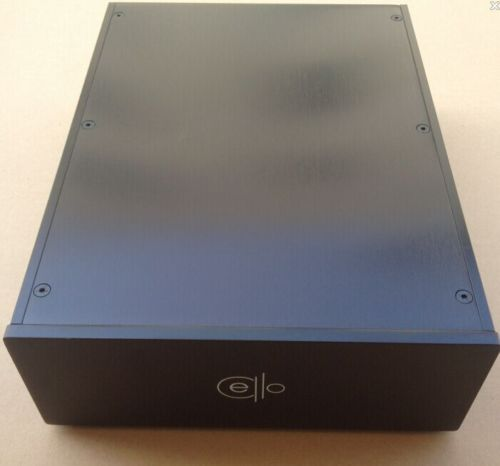 CELLO 2309 blank black amplifier enclosure full Aluminum chassis PSU case 4309 blank psu chassis full aluminum preamplifier enclosure amp box dac case