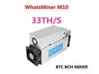 Asic bitcoin bch btc 광부 whatsminer m10 33th/s 65 w/t antminer s9 s9i s9j t9 + m3  저전력 소비보다 낫다.