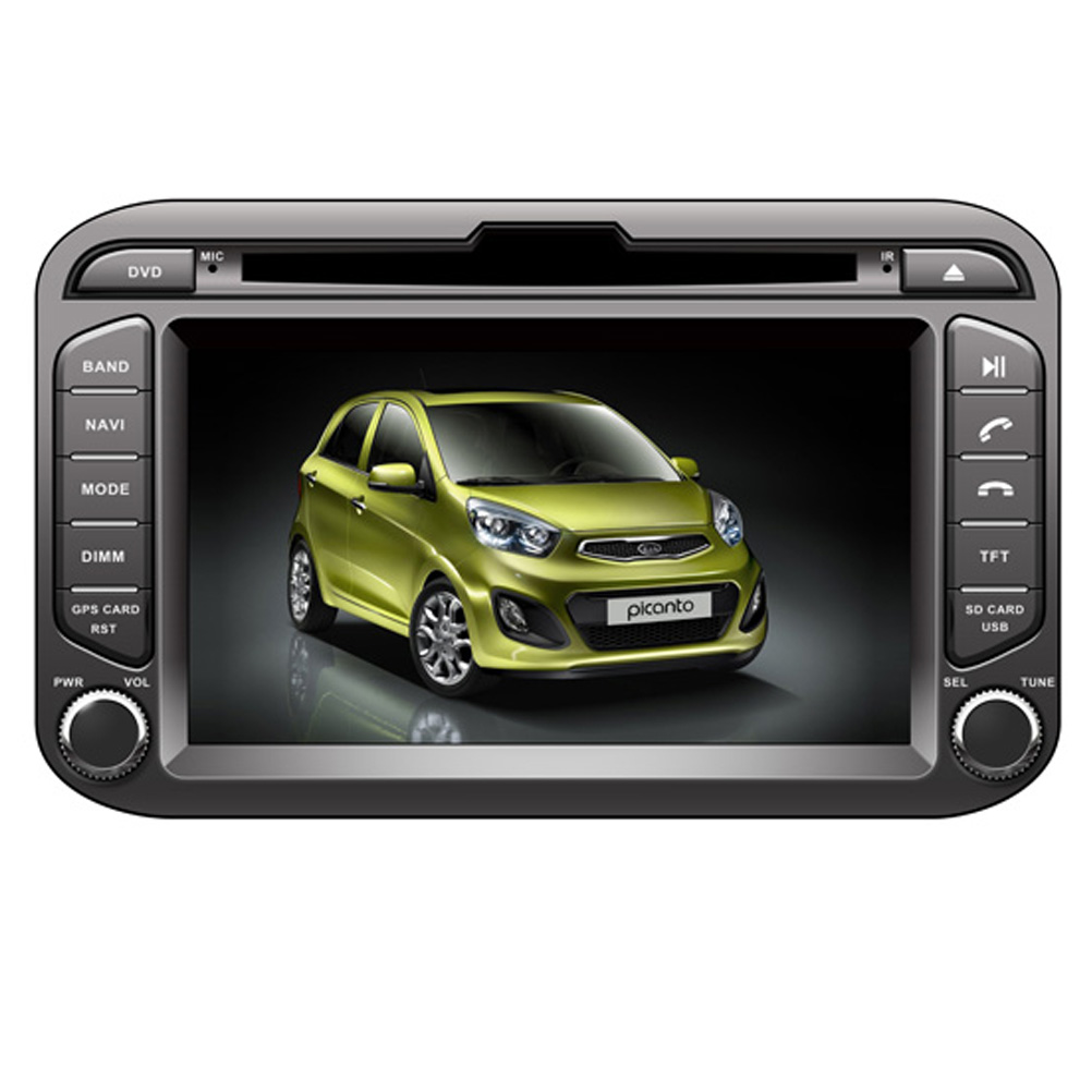 Ectwodvd Wince 6.0 Car Multimedia Player For KIA Picanto Morning 2011 2012 2013 2014 2015 2016 Car DVD GPS Navigation Radio электрочайник de longhi kbi2000 bk