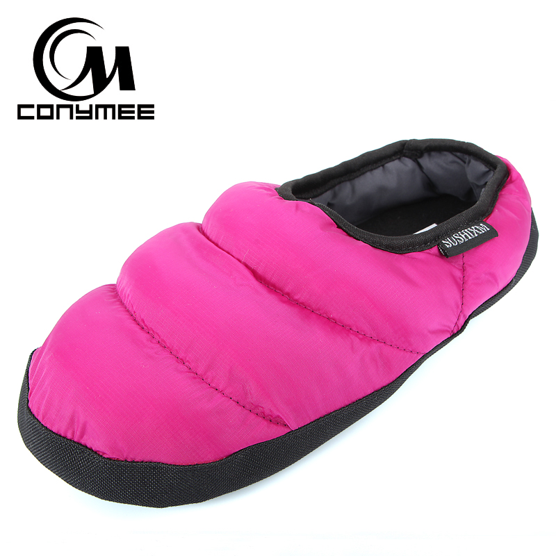 Winter Fur Slippers Woman Down-cotton Indoor Shoes Pantufa Men Women Casual Home Sneakers Warm Slipper Big Size Shoe Terlik 4