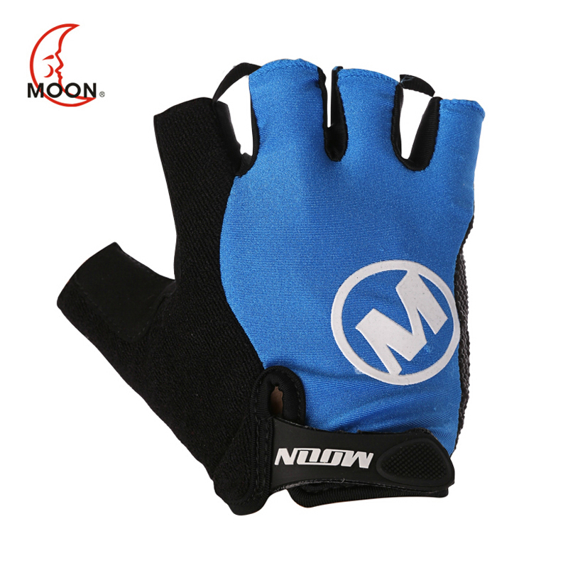 MOON Hot Sale Cycling font b Gloves b font Durable Anti slip Half Finger Bicycle font