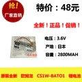 Omron cs1w-bat01 genuína originais 3.6 v bateria de lítio bateria de lítio plc industrial máquina de equipamentos ferramentas recarregável li-io