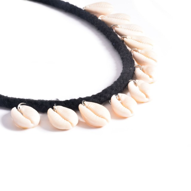 Seashell Embellished Necklace for Women