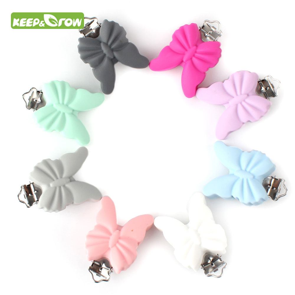 1PC Hedgehog Shape Baby Ring Silicone Beads Teething Ring Toy DIY Chain Hot
