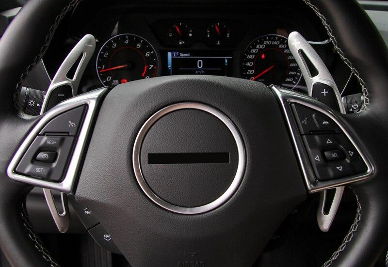 Accessori interni Volante DSG Paddle Shift di Estensione 2 pz Per Chevy Chevrolet Camaro 2016 2017Accessori interni Volante DSG Paddle Shift di Estensione 2 pz Per Chevy Chevrolet Camaro 2016 2017