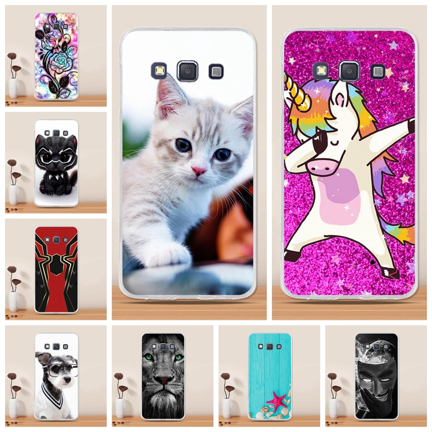 For Samsung Galaxy A3 2015 Case Cover Silicone 3D Soft TPU Funda For Samsung Galaxy A3 2015 A3000 A300 Phone Case Coque Hoesjes