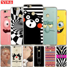 Mickey Minnie Cat Case For Huawei Nova 2 plus Nova 3E Cover For Huawei Y3 Y5 Y6 II 2 Y3 Y7 2017 Y6 Pro Phone Back Cover Coque(China)
