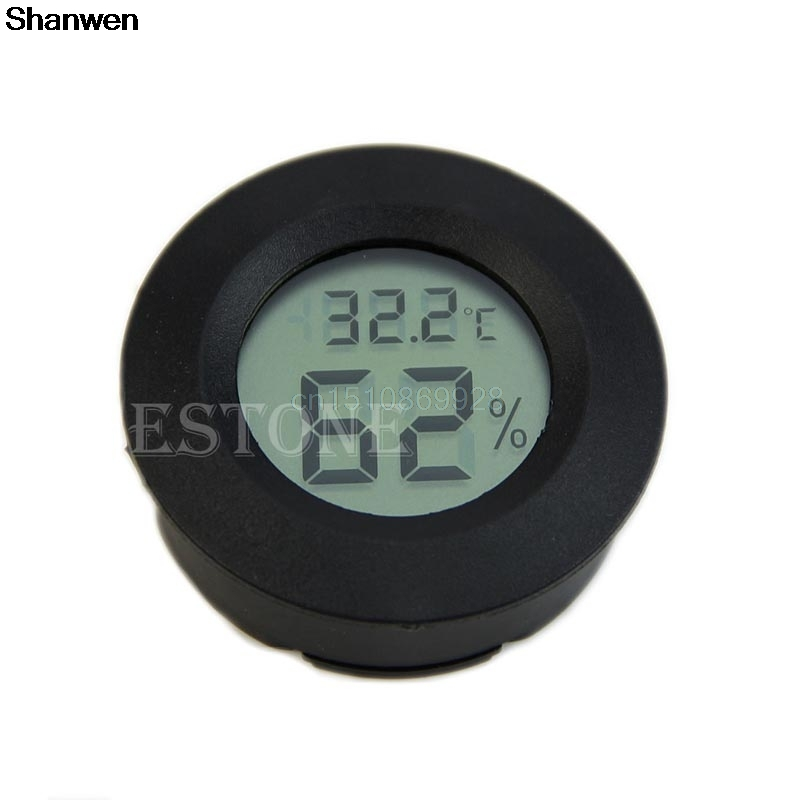 Cigar Humidor Hygrometer Thermometer Temperature Digitale Zigarren-Humidor