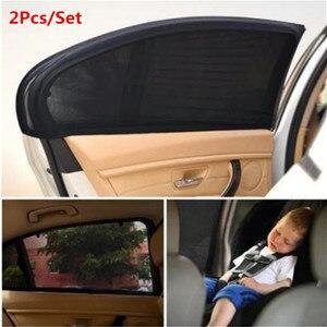 2Pc Car Sunshade Curtain Auto