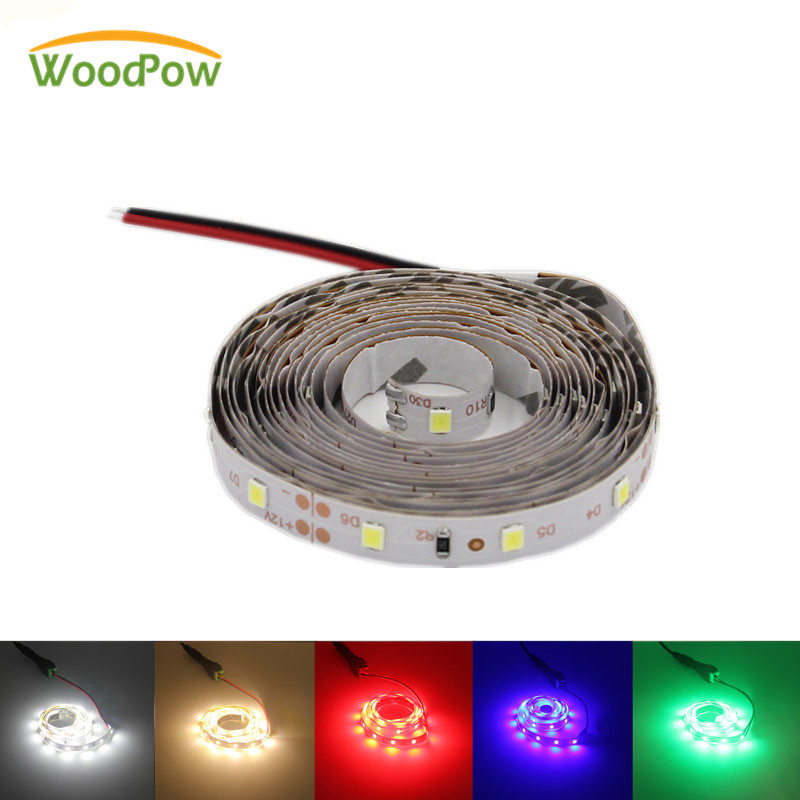 Ultra Bright 300leds 5M Full Set LED Strip Light Ribbon Flexible 60leds/m SMD 2835 12V DC 1m/2m/3m/5m/Green Red Blub Warm White 0 5m 1m 2m 3m 5m elbow up