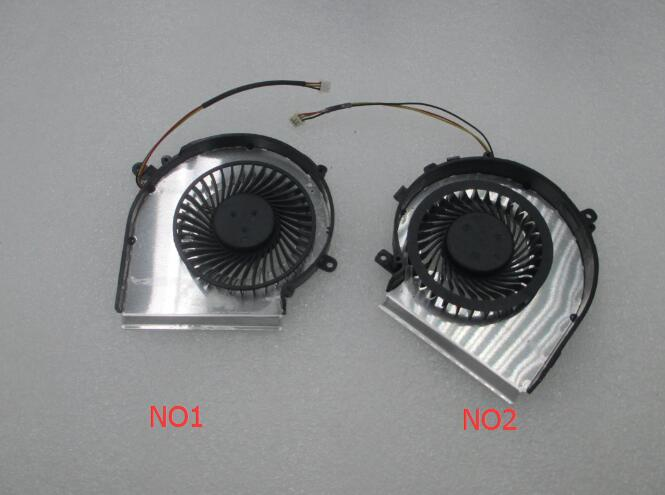 OEM-CPU AND GPU Cooling Fan For MSI GE72 GE62 PE60 PE70 GL62 GL72 2QD 2QE 2QF PAAD06015SL 3pin 0.55A 5VDC N303 N302 computador cooling fan replacement for msi twin frozr ii r7770 hd 7770 n460 n560 gtx graphics video card fans pld08010s12hh