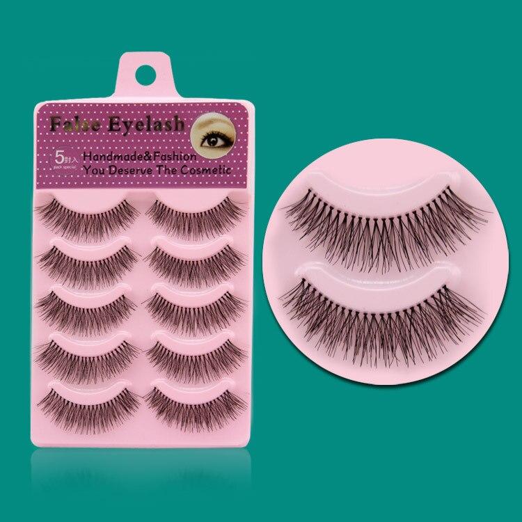 Best Looking Natural Long False Eyelashes Demi Fake Eyelash