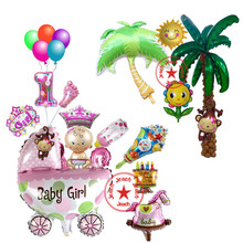 birthday party balloon baby shower decorations baloon helium foil supplies balloons