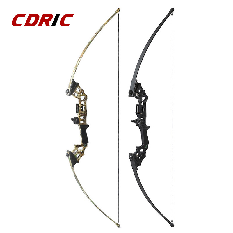 40 Lbs 2Color Fishing bow Straight Bow For Right Handed Practice Shooting Archery Hunting