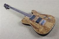 Gleeson Instrument Studio.Telecast custom electric guitar.Acacia decay maple top.one piece mahogany guitarra.MINI switch hot
