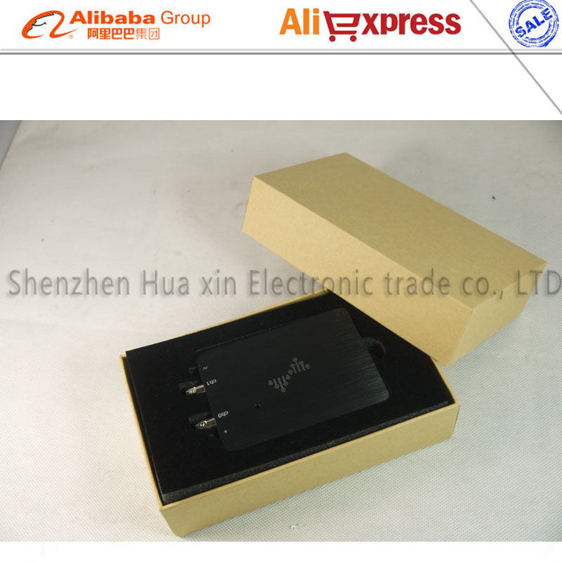 Kostenloser versand dual kanal DSCope analog ultra tragbare oszilloskop 50 mt bandbreite 200 mt probenahme USB power versorgung - 5