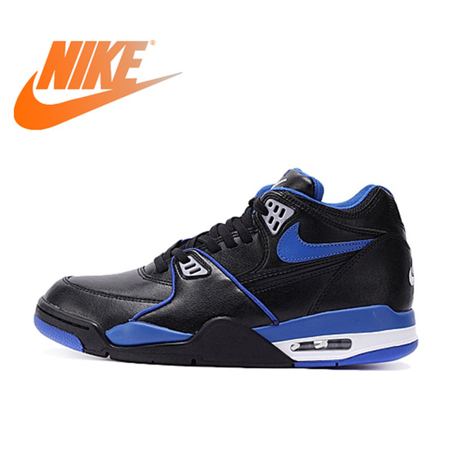 fd646d82ae906 Original Official Nike AIR FLIGHT 89 LE AJ4 Medium Cut Men s Breathable  Basketball Shoes Sports Sneakers Waterproof Comfortable