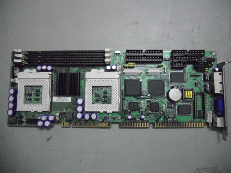 Dual CPU dual network port Full length P3 board FBX2 industrial motherboard portwell robo 8712evg2a industrial motherboard dual network length of two usb p4 card