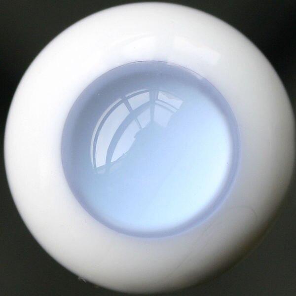 [wamami] EW30# 8mm Light Blue No Pupil Eyes For BJD Dollfie Glass Eyes