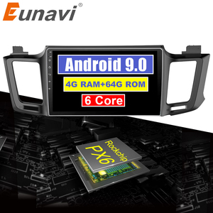 Eunavi 4G+64G Android 9.0 4G Car Radio M
