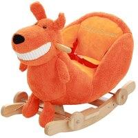 Детская лошадка игрушка плюшевая детское кресло качалка детский батут плюшевое детское сиденье дети на открытом воздухе игрушка качалка к
