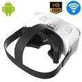 Tudo-em-ine V9 CAIXA VR Realidade Virtual 3D Óculos de Vídeo Game Android Capacete Bluetooth WiFi 1280*720 P Tela HD Apoio TF Cartão