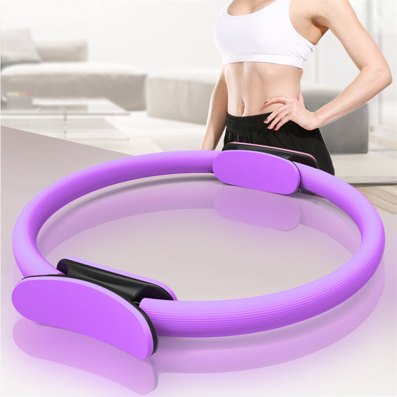 Hot Sale Yoga Pilates Ring Pilates Anillo Magic Circle Wrap Slimming Body Building Fitness Circle Yoga Accessories Foamroller Cleaning The Oral Cavity.