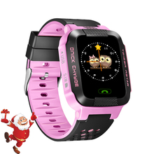 Smart Baby Watch Phone GPS For Children Wristwatch Support SIM TF Card Kids Smart Watch For Android Phone Gift for Child