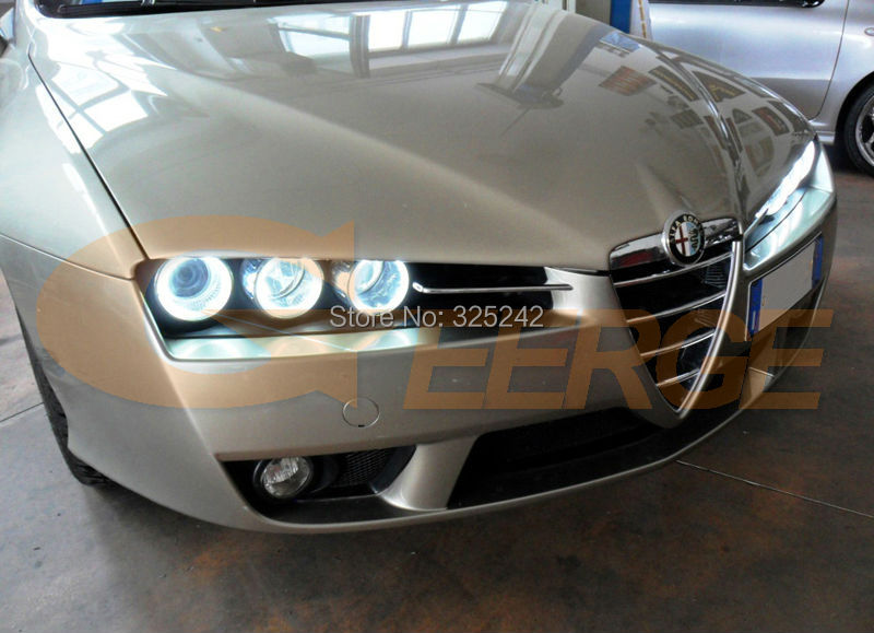 Για την Alfa Romeo 159 2005 2006 2007 2008 2009 2010 2011 - Φώτα αυτοκινήτων - Φωτογραφία 2