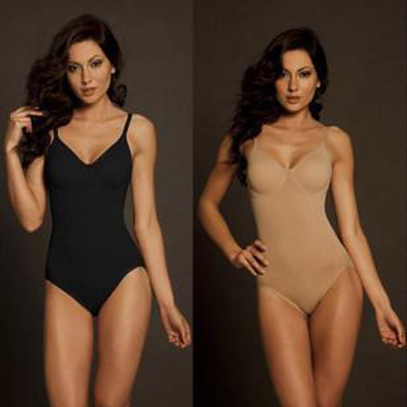 Hot selling Body Wrap Full Figure Kvinnors BodySuit With Underwire, högkvalitativ body shaper, freeshipping