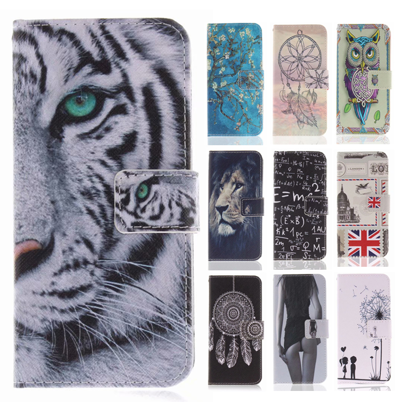 Flip Cases Flip Pu Leather Cases For Iphone 7 Fundas Cool Tiger Lion Owl Wallet Stand Cover For Iphone X Xs Max Xr 8 7 6 Plus 5 5s Se Case To Invigorate Health Effectively