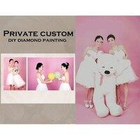 DIY Diamond Painting Private Custom Photo Custom Make Your Own Diamond Painting Full Drill Diamond Rhinestone