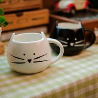 1Pcs Novelty Cute Milk Mug Ceramic Creative Juice Coffee Porcelain Tea Cup Espresso Thermo Mug Moomin