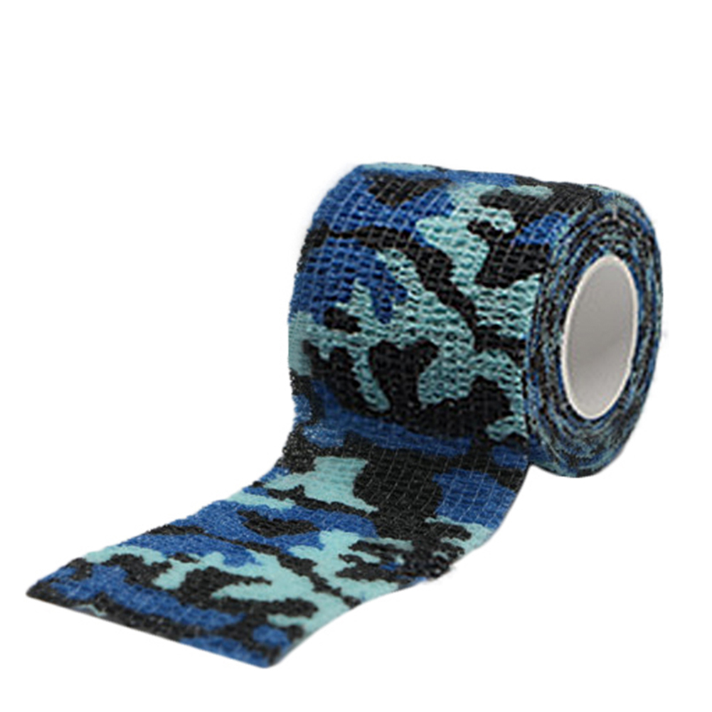 Pet Multi-functional Self-adhesive Elastic Bandage Non-Woven Fabrics Pets Breathable Tearing Camouflage Bandages For Dogs Cats