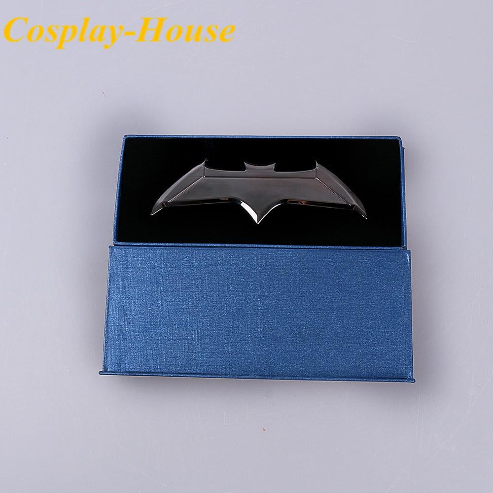 Cos Batman v Superman: Dawn of Justice Metal Weapon Batman Darts - Carnavalskostuums - Foto 1