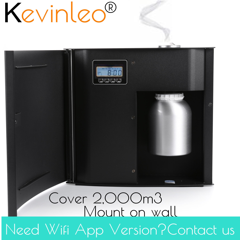 7,500 sq. ft aroma máquina unidade de fragrância coveragea área 500ml cartucho para escritório hotel casa purificador ar ionizador ar