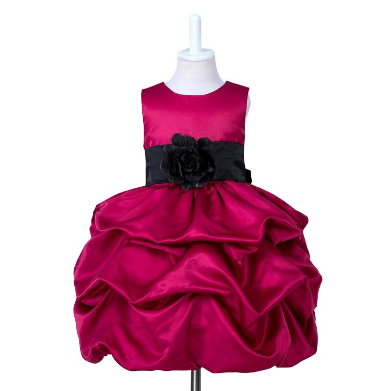 Christmas dress for girl 2018 Flower girl dresses junior girls celebration prom gown dresses baby girl clothes