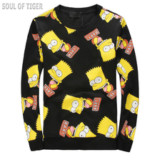 Cartoon Printed Design Winter Fashion Men's Tracksuits Hip Hop Style Harajuku 3D Sweatershirt Men O-Neck Big Size Man Sweatshirt