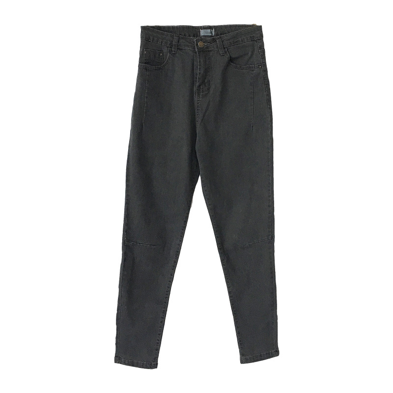 Slim Alta Borla Vintage Pantalón Cremallera Con Lápiz Pantalones 1p0079 Tobillo 1p0080 1p0079 Longitud Cintura De Mujer Vaqueros 1p0080 H8Xxfq8Ow