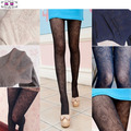1 PC Fashion Sexy Stocking Retro Hollow Out Totem Velvet Backing Pantyhose Fun Tights 5 Colors Sexy Accessories